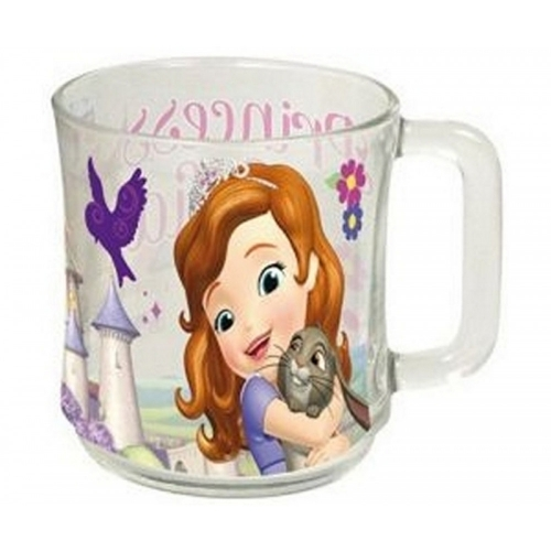 Disney Princess Sofia Glass 10x11x8cm