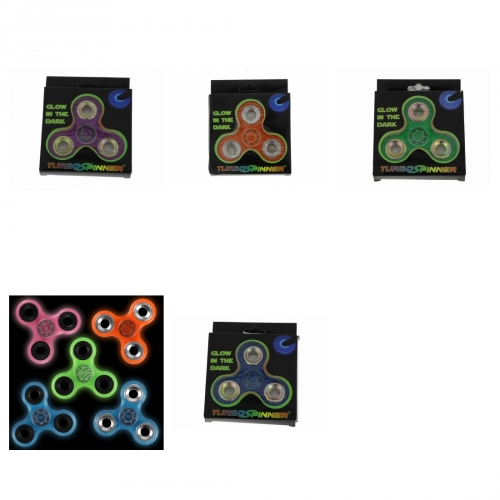 Turbo Spinner Glow in the Dark Hand Spinner