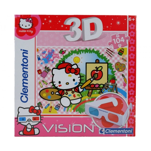 Clementoni Hello Kitty Puzzle 3D