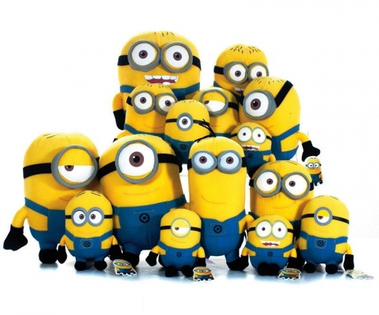 Minions 6 verschiedenen S1 17cm Entertainment