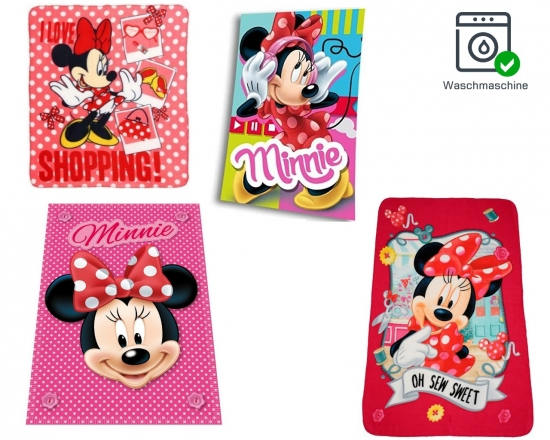 Disney Minnie Maus Fleecedecke