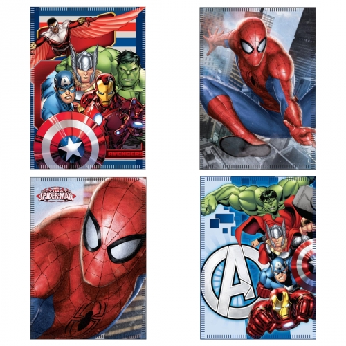Marvel Avengers Spiderman Fleecedecke 100x140cm