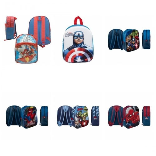 Rucksack Marvel Avengers/Spiderman/Captain America