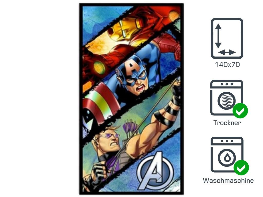 Handtuch Bad Avengers 140x70 - Typ: Linien