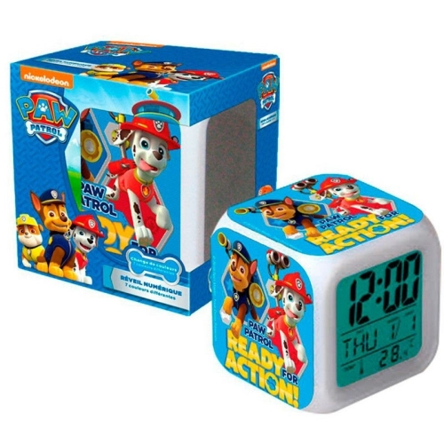Paw Patrol Wecker LED Kinderwecker