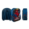 Rucksack Marvel Avengers/Spiderman/Captain America - Auswahl: Marvel Spiderman 29x35x10cm 3D