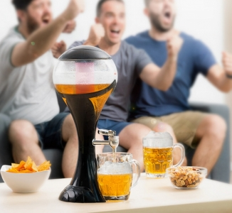 World Cup InnovaGoods Bierspender mit LED