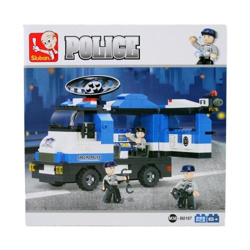 Sluban Polizei mobile Polizeistation M38-B0187