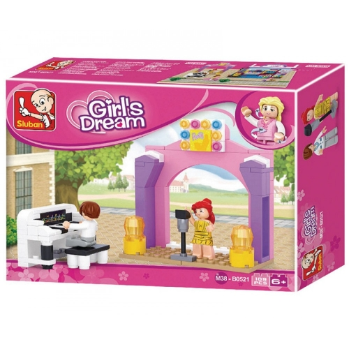 Sluban Girls Dream Musikbühne 109 Teile M38-B0521