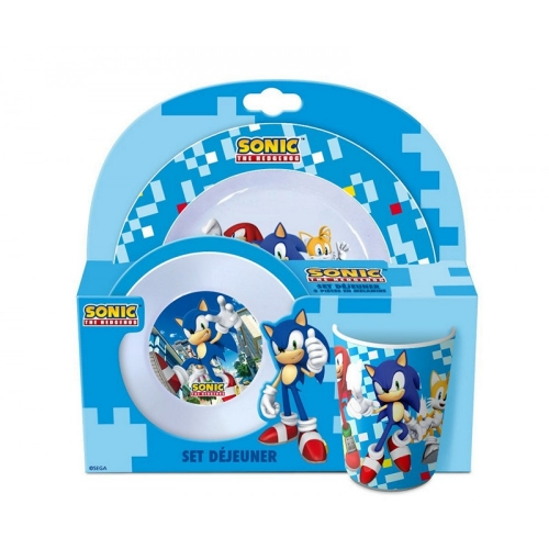 Sonic Lunchset 3 Teile