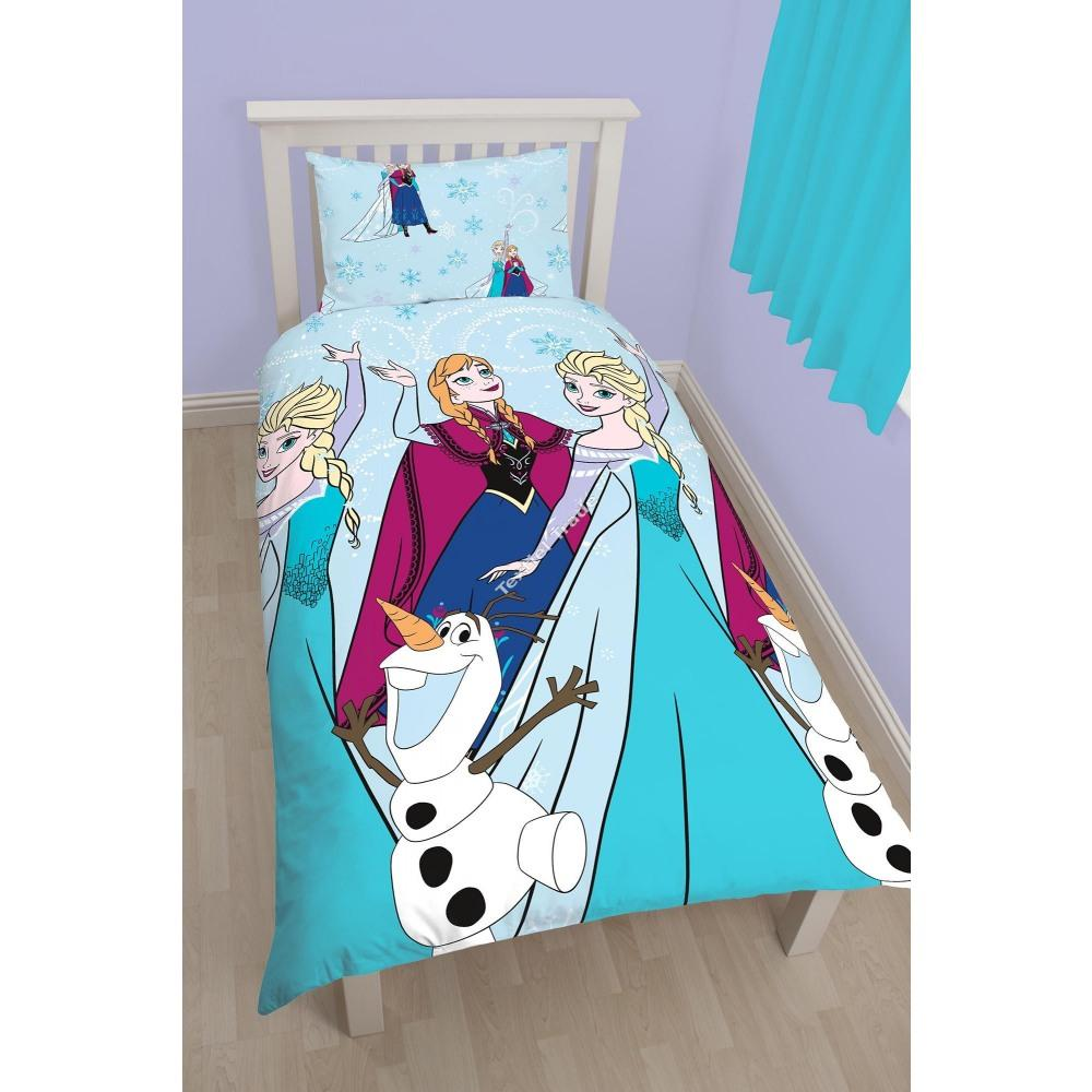 die eisk nigin frozen bettw sche. Black Bedroom Furniture Sets. Home Design Ideas